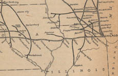 Chicago and Northwestern Railway, map of Chicago area, 1904