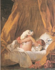 Fragonard, Girl with her Puppy, 1775