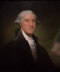 George Washington, painting by Gilbert Stuart