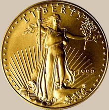 "United States ""Liberty"" Gold Dollar"