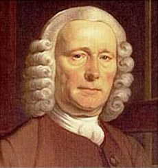 John Harrison, clockmaker, solved the problem of determining longitude at sea, opening up the world to reliable navigation.